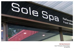 Sole Spa Signage